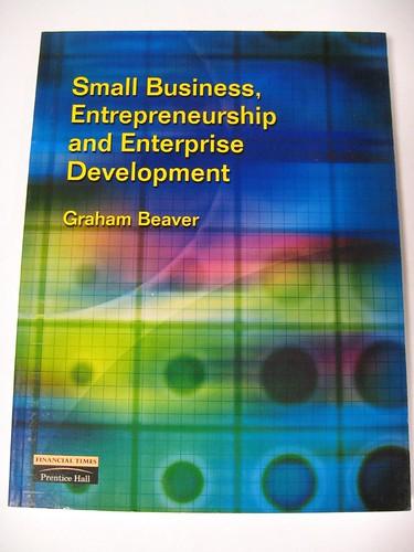 Small Business, Enterepreneurship and Enterprise Development