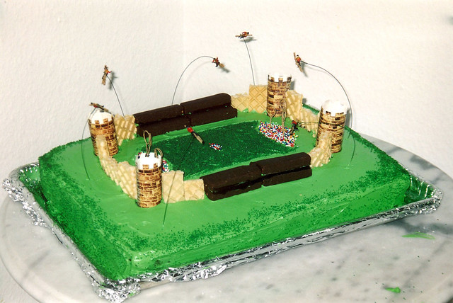 The Quidditch cake
