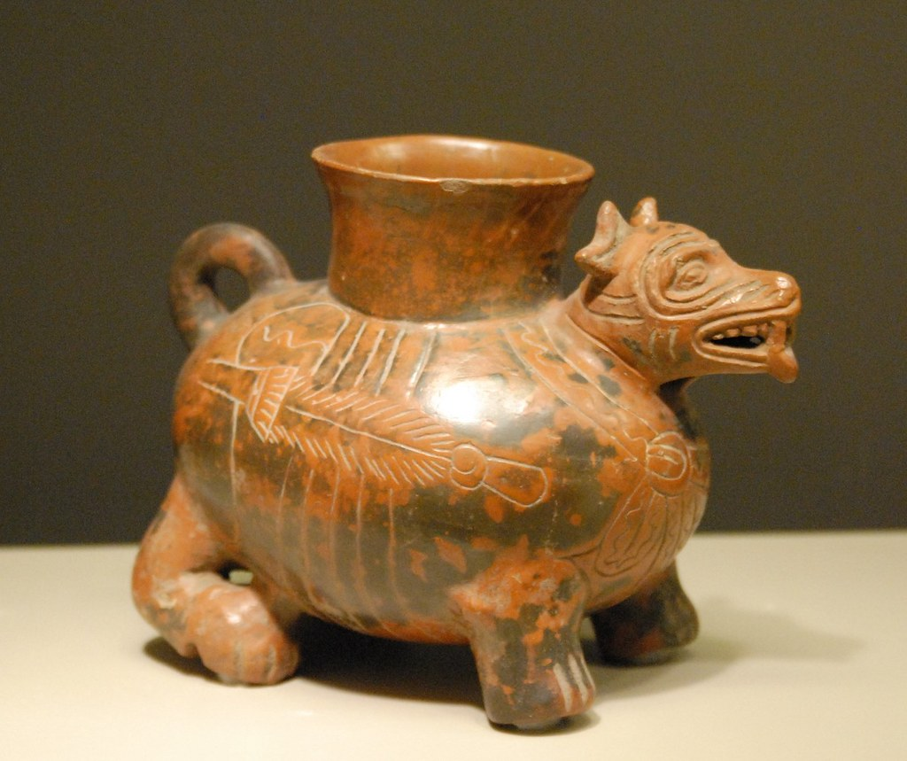 Ancient Mexican Pottery Dog Vessel A Photo On Flickriver