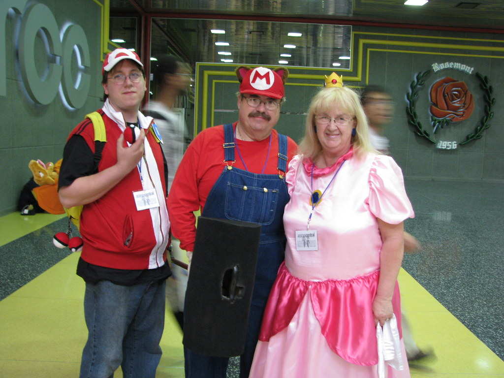 Pokémon Trainer, Mario, Princess Peach