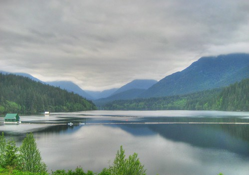 Capilano Lake in the Clouds
