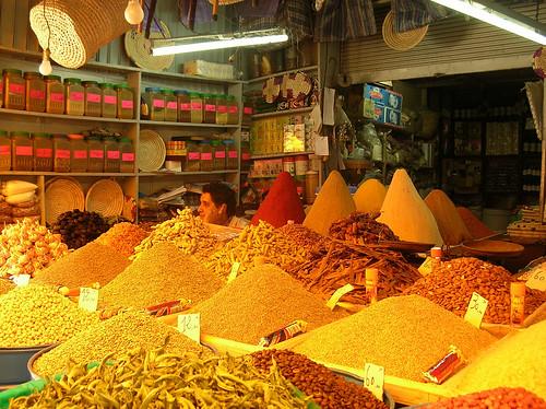 Especias en Marruecos