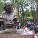 Keys To Community: Franklin's party in Girard Fountain Park by jepsculpture