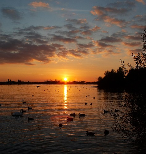 sunset chasewater colorphotoaward bigpicture2008 stokeandstaffordshire