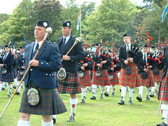 musician, kilt, marching, physical fitness, person, bagpipes,