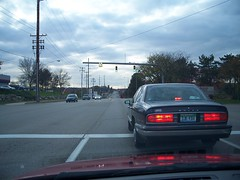 Traffic signal on Beckley at Lakeview Square entrance