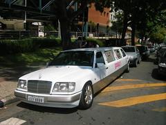 mercedes-benz w124(0.0), mercedes-benz 600(0.0), antique car(0.0), automobile(1.0), automotive exterior(1.0), vehicle(1.0), mercedes-benz(1.0), sedan(1.0), land vehicle(1.0), luxury vehicle(1.0), limousine(1.0), motor vehicle(1.0),