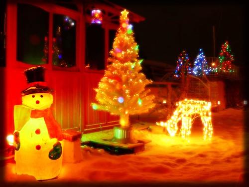 Illuminer Son Jardin Pour Noel Blog Almateon