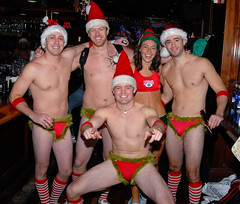 001 Santa Speedo Run 2007