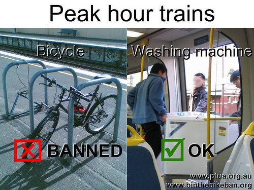 Peak hour trains