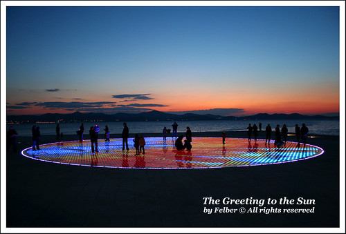 Greeting to the Sun, Zadar (Croatia)