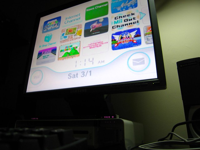 how to connect a wii to a computer monitor
