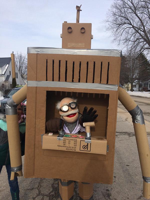Publicizing Cardboard Challenge