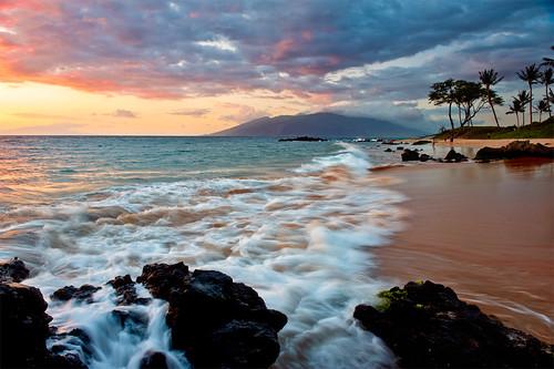 sunset beach hawaii maui pacificocean wailea nikon2470mm nikond700