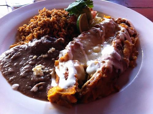Pumpkin (as usual) Enchiladas