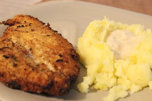 Chicken Fried Chicken & Mashed Potatoes