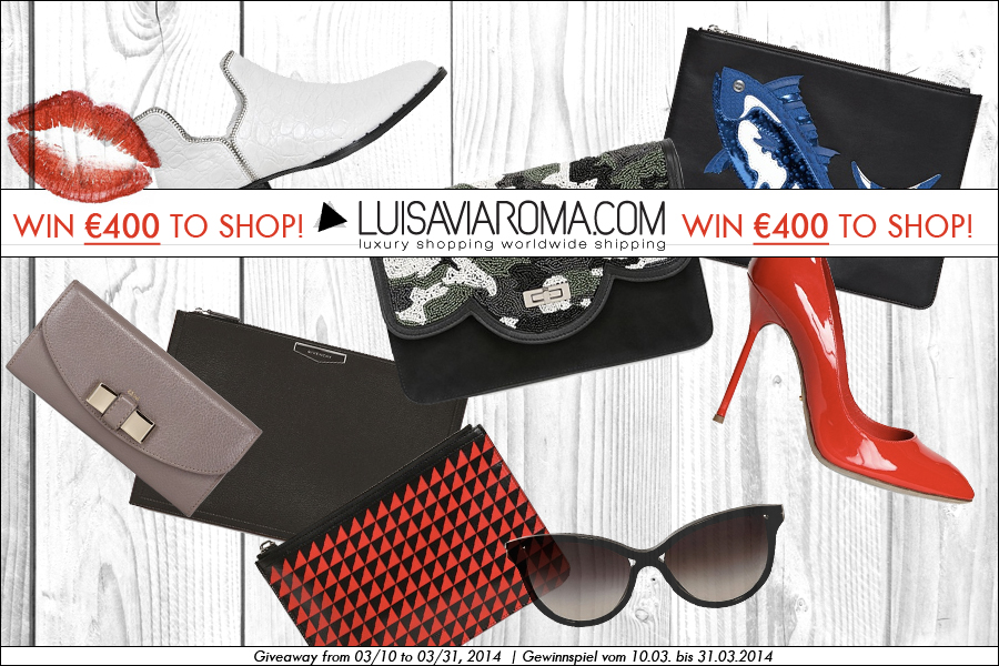 Luisaviaroma LVR Luisa Via Roma Gewinnspiel Giveaway Win CATS & DOGS fashion blog berlin designer luxury fashion competition 1