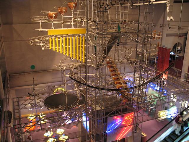 Ball Machine, Hong Kong Science Musuem