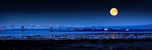 Kessock Bridge Inverness Scotland by Bruiach/ Colin Campbell