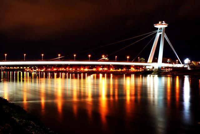 Pont de Bratislava, UFO restaurant (ресторан ufo Братислава)