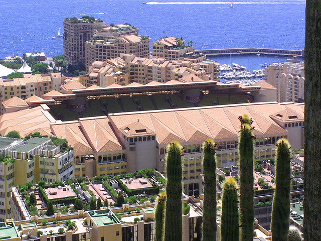 Many eco-roofs in Monaco