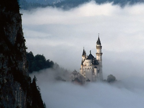 Fairy Tale Fantasy, Neuschwanstein Castle, Bavaria, Germany