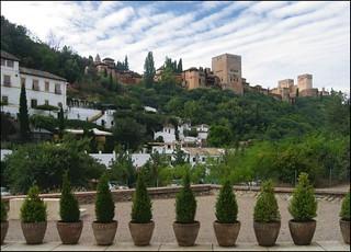 Bilde av Palacio de los Córdova. españa geotagged spain view palace andalucia alhambra granada perspectiva andalusia palacio albaicin cuesta granade albayzin cordovas qcfaj chapiz geoetiqueta geoetiquetada