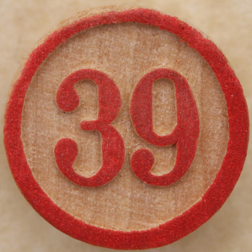 Bingo Number 39