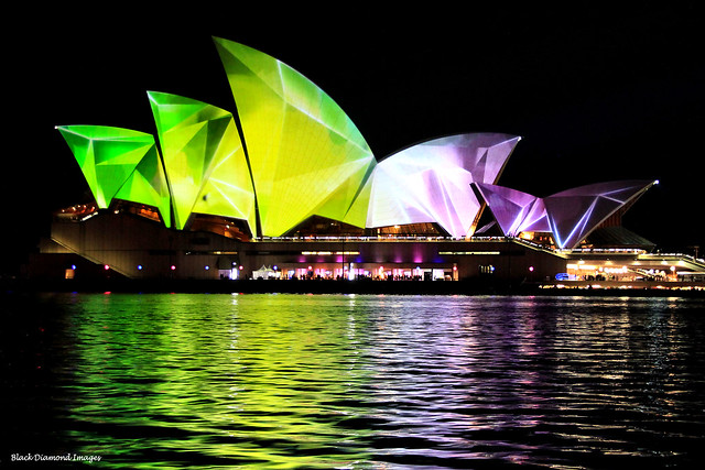 Sydney Opera House - Vivid Sydney Festival of Music, Light and Ideas 2011
