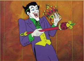 batman - joker filmation art
