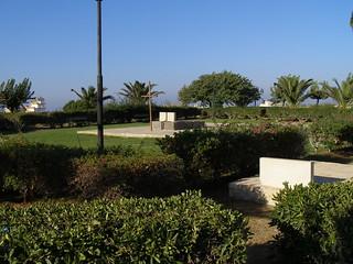 Obraz Grave of Nikos Kazantzakis. summer greece crete irakleio 18082007