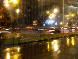 Night, lights & rain #2