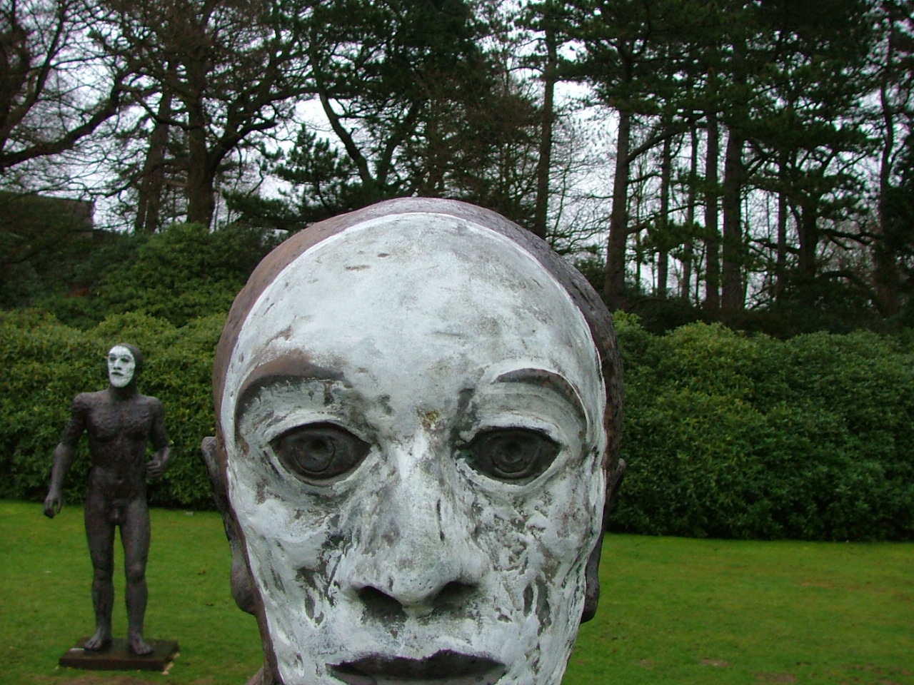 Elizabeth Frink - Riace Figures Bronze, YSP