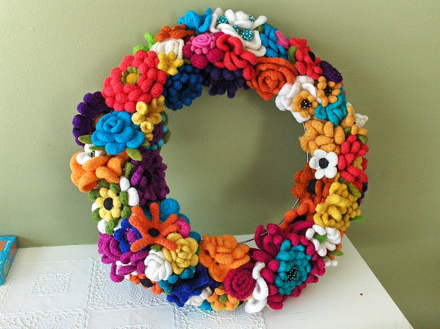 wreath for bunny competition