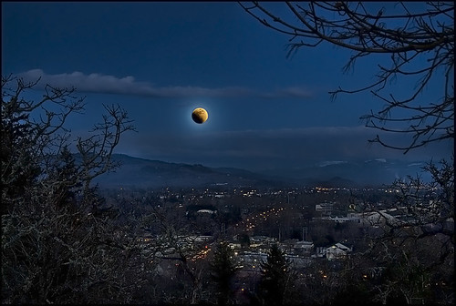 Lunar Eclipse over Eugene