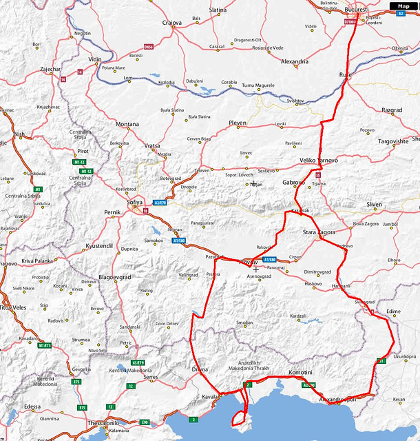 The Motorcycle Diaries - The Map | Flickr - Photo Sharing!
