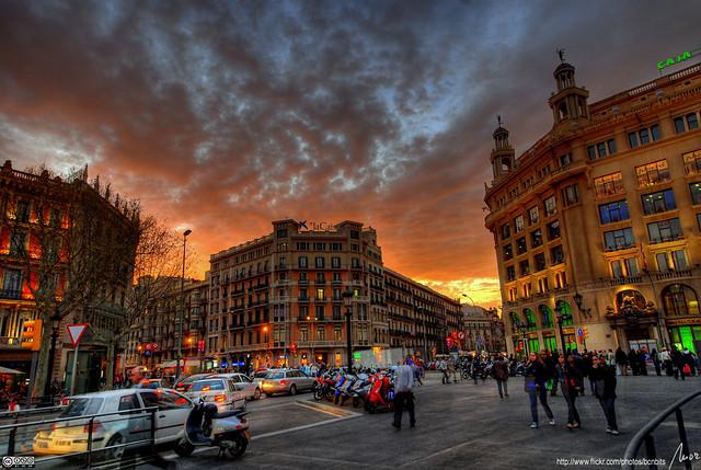 Plaça Catalunya - Barcelona HDR