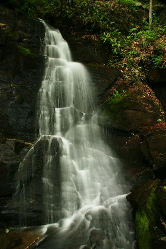 waterfall northcarolina greatsmokymountainnationalpark juneywhankfalls deepcreekarea