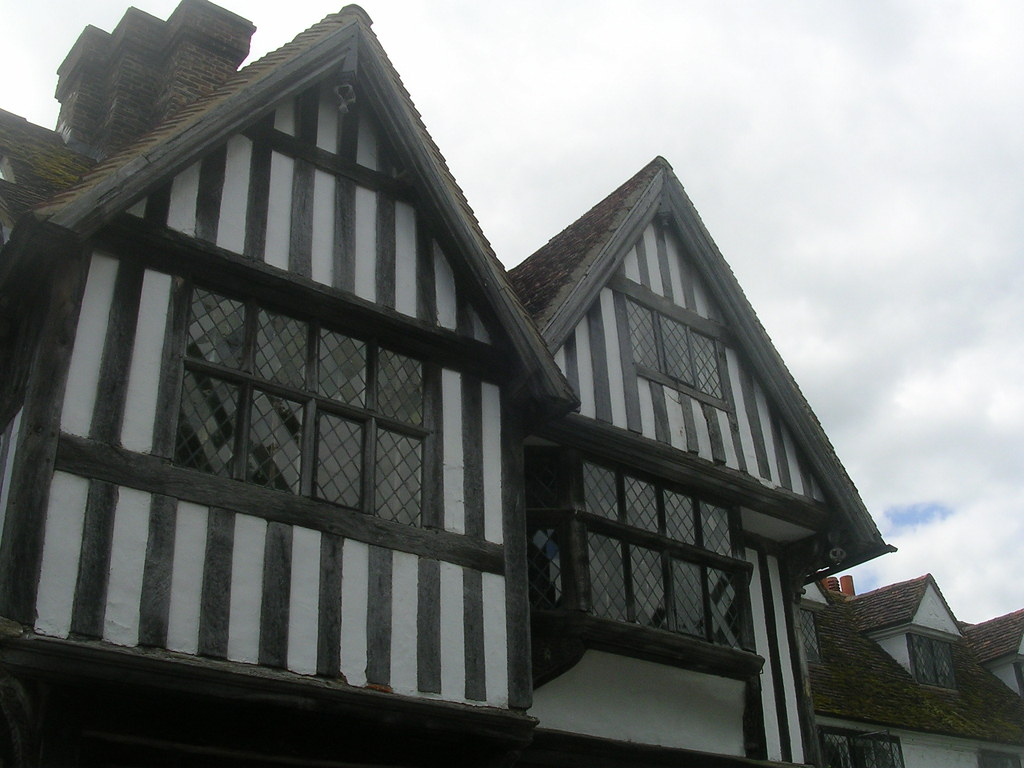 Old buildings, Chiddingstone Hever to Leigh