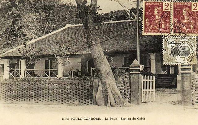 ÎLES POULO-CONDORE - La Poste - Station du Cable