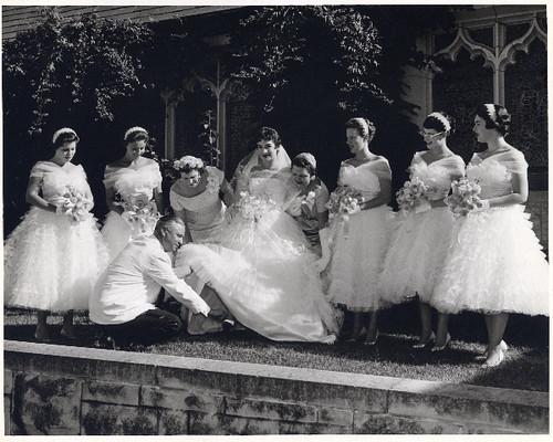 50s wedding