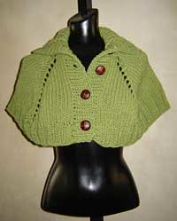 Cape Knitting Pattern (Hand Knit) – Free Web Generated Knitting