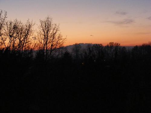 alba dopo la pioggia