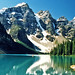 Valley of the Ten Peaks at Moraine Lake Alberta Canada