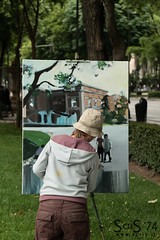 Painter in Madrid