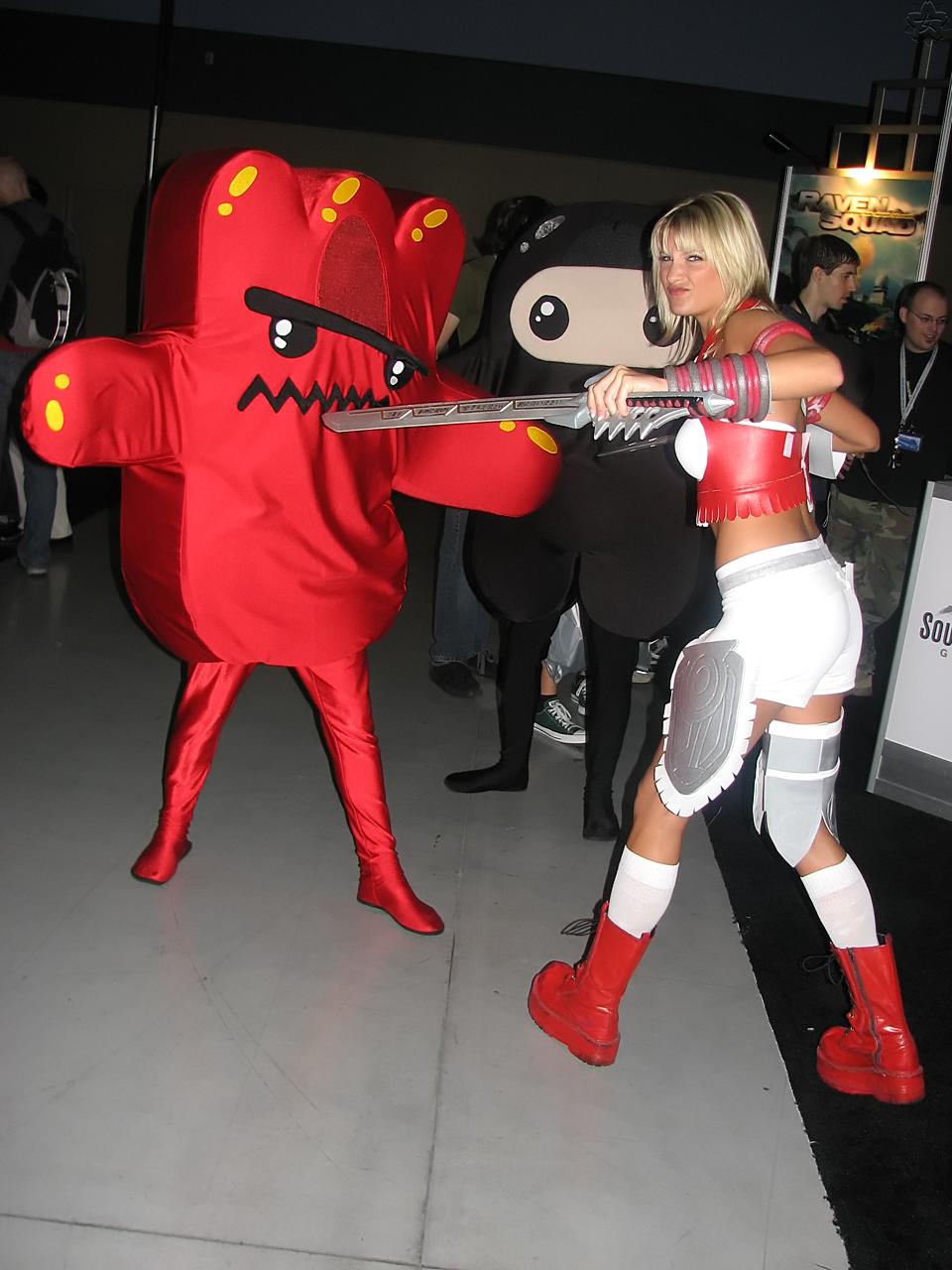 X Blades Ayumi Cosplay Ayumi vs. Ninjas - a p...