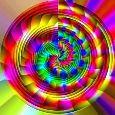 Spiral of colours  Torbillon de couleures
