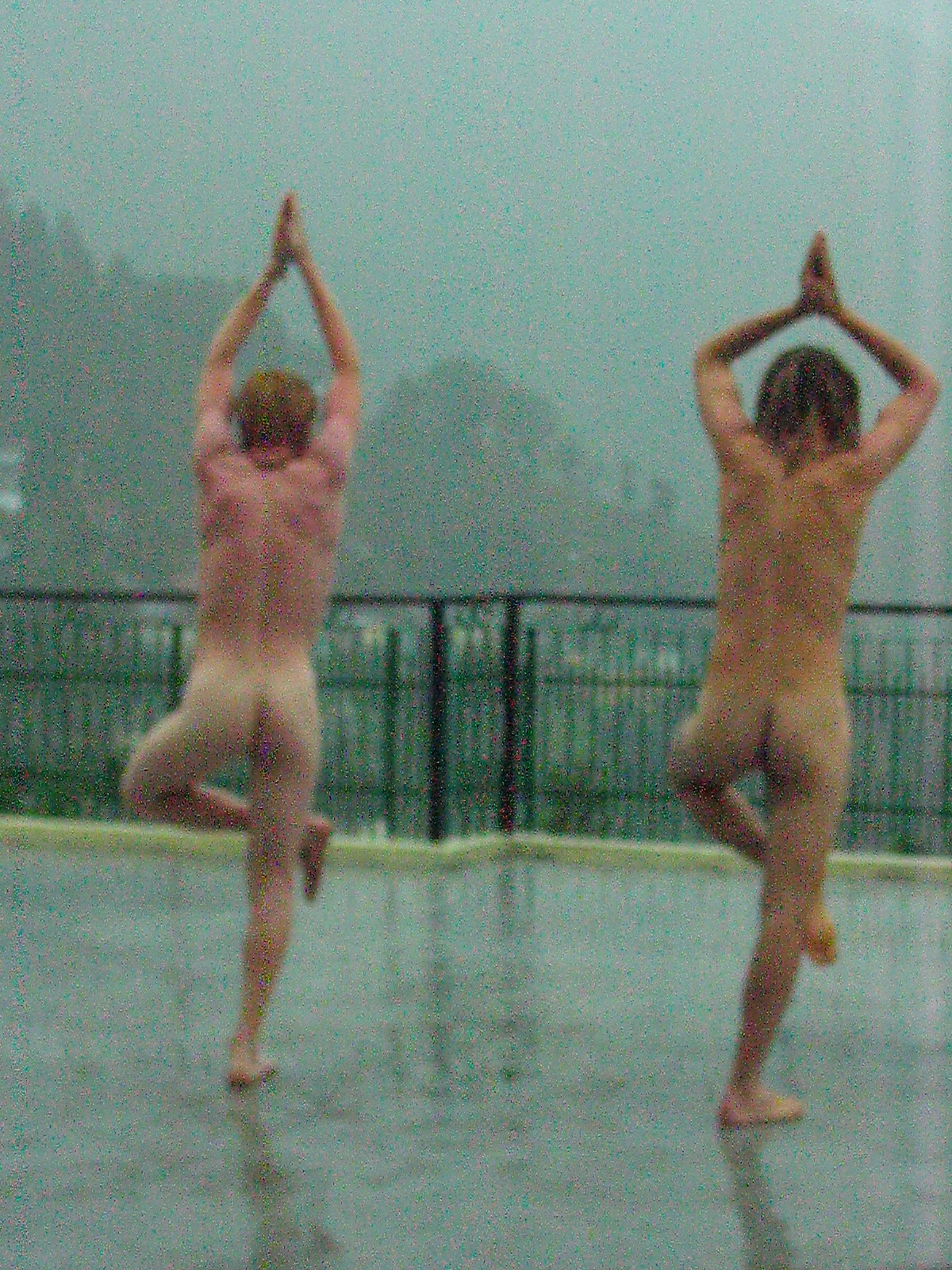 Naked tai chi