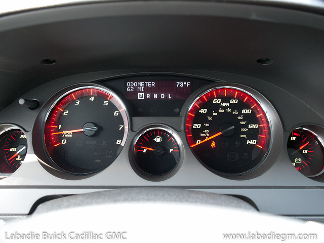 Labadie Bay City >> Instrument Panel 2011 GMC Acadia SL White Diamond- Odomete… | Flickr - Photo Sharing!