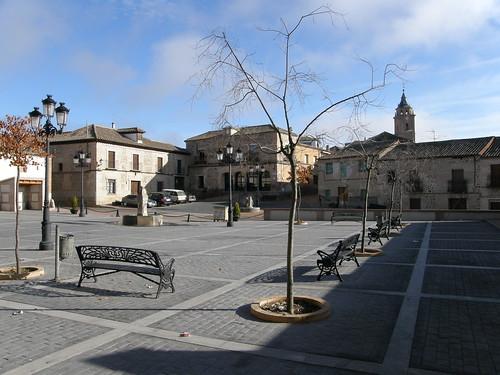 La plaza de nuevo
